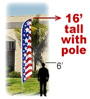 FEATHER FLAG FLAGS & FLAG POLES THE VILLAGES FL 32162 TELESCOPE FLAGPOLES