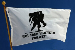WOUNDED WARRIOR PROJECT FLAG LADY LAKE FLORIDA THE VILLAGES FLORIDA 1