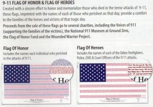 HONOR - HERO FLAG 3' X 5'